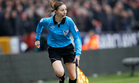 Sian Massey assistant referee