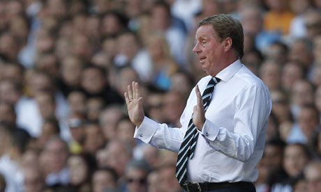 Harry Redknapp gestures on the sideline