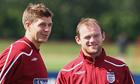 Steven Gerrard Wayne Rooney England