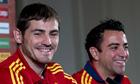 Iker Casillas Xavi Hernández Spain