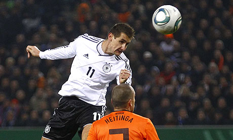 Miroslav Klose Germany Holland