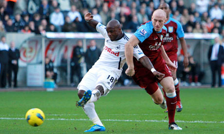 Swansea City 0-0 Aston Villa