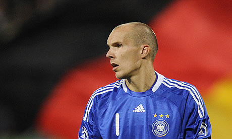 Robert Enke, the Germany goalkeeper