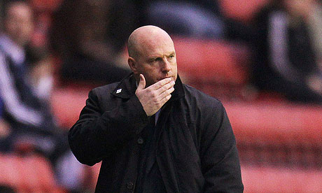 Blackburn Rovers Steve Kean seeks some Carling Cup relief in Cardiff