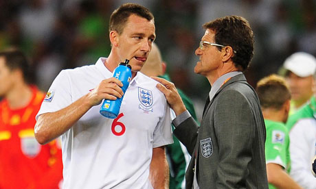 Fabio Capello has another big decision to make regarding John Terry's captaincy