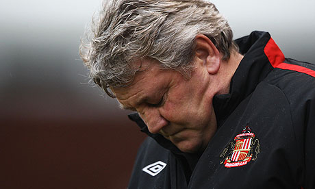 Steve Bruce sacked by Sunderland