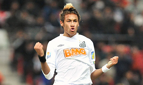 Fotos de Neymar. I'm a believer. Neymar-Santos-Club-World--007