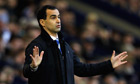 Roberto Martínez: We must unblock our minds against Manchester United