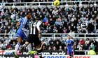 Chelsea's Didier Drogba scores against Newcastle United