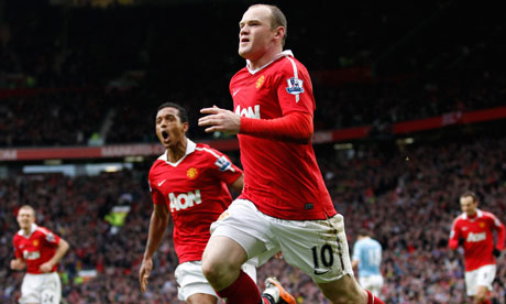 Wayne Rooney of Manchester