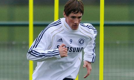 fernando torres chelsea. Fernando Torres of Chelsea