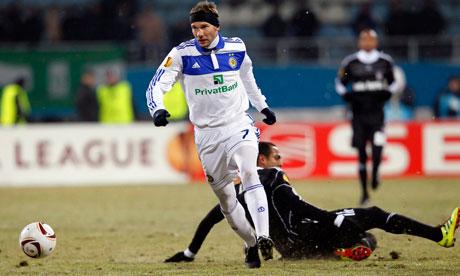 FC Dynamo Kyiv vs Besiktas Istanbul