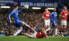 Fernando Torres Darren Fletcher Chelsea
