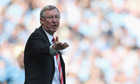 Sir Alex Ferguson will begin his ban against Bolton if found guilty