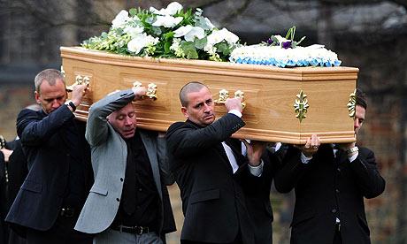 Dean Richards funeral