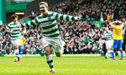 Kris Commons double gives Celtic victory over Hamilton