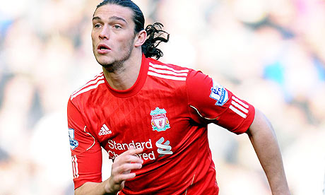 Liverpool striker Andy Carroll, the new benchmark of the price of a player
