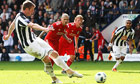 Chris Brunt's spot-on double enables West Brom to overhaul Liverpool
