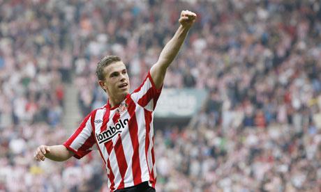 Sunderland's Jordan Henderson