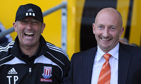 Ian Holloway and Tony Pulis