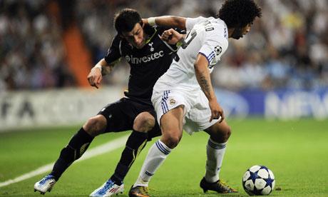 real madrid vs tottenham champions league 2011. Real Madrid v Tottenham