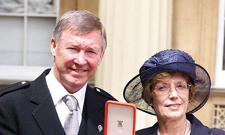 Sir Alex Ferguson Cathy