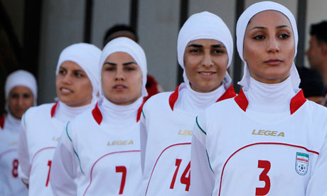 Iran's women's football team