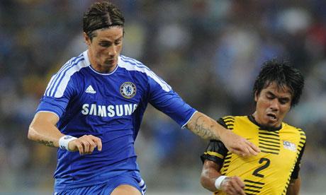 Fernando Torres v Malaysia XI