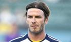 David Beckham on Manchester City