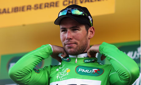 Mark Cavendish of Great Britain and HTC-Highroad hopes to make it third time lucky