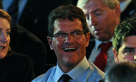 Fabio Capello at the World Cup draw