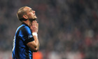 Manchester United say Wesley Sneijder will not join the club