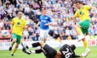 Wes Hoolahan's goal earns Norwich City a point at Wigan Athletic