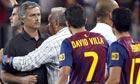 José Mourinho turned to violence against Barça to mask his own failure