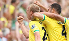 Kenwyne Jones rescues late point for Stoke City against 10-man Norwich
