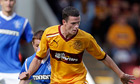 Motherwell beat Dunfermline to go back to the top of the SPL