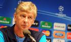 Arsène Wenger highlighted Arsenal's plight