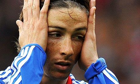 Chelsea's Spanish forward Fernando Torres