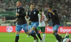 'We've got one foot in the finals,' says England's Wayne Rooney