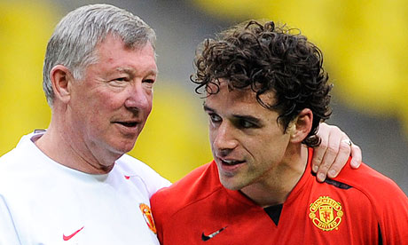 Alex Ferguson with Owen Hargreaves