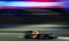 Red Bull's Sebastian Vettel on his way to winning the Singapore Grand Prix