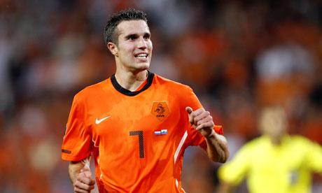 RVP jako reprezentant Holandii