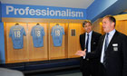 FIFA Inspection Visit - City of Manchester Stadium