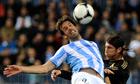 Ruud van Nistelrooy of Holland, left