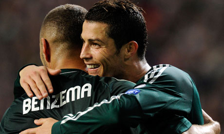 Ronaldo and Karim Benzema Benzema And Ronaldo 2012