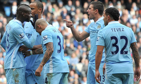 Balotelli and Kolarov
