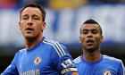John Terry Ashley Cole Chelsea
