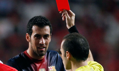 straight red card ban uefa