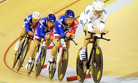 Cycling - Track World Cup - Day One - Sir Chris Hoy Velodrome