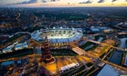 Aerial Views of The London Olympic Stadium